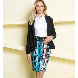 GET NOTICED | Gorgeous Abstract Print Skirt